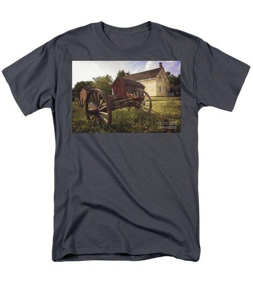 East Jersey Olde Town Men's T-Shirt  (Regular Fit) by Debra Fedchin