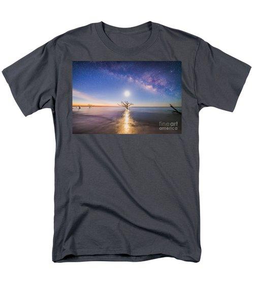 Edisto Island Milky Way Men's T-Shirt  (Regular Fit) by Robert Loe