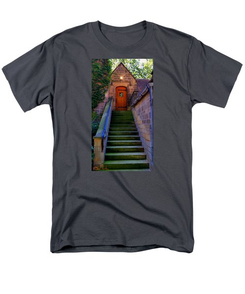 Men's T-Shirt  (Regular Fit) featuring the photograph Edsel Ford Mansion by Michael Rucker