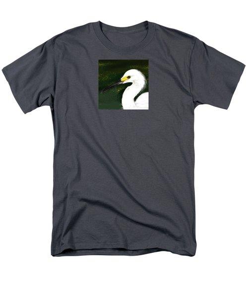 Egret Men's T-Shirt  (Regular Fit) by Beth Klock