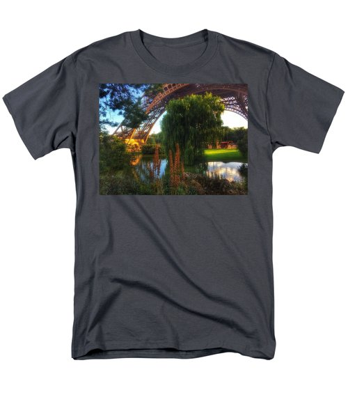 Men's T-Shirt  (Regular Fit) featuring the photograph Eiffel by Marty Cobcroft