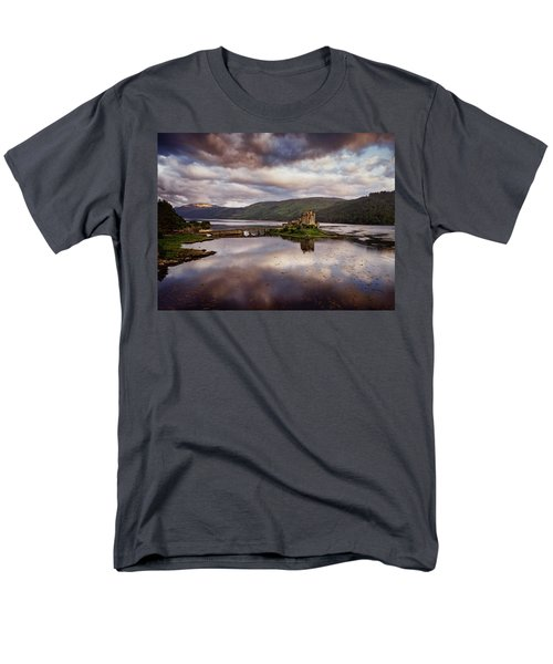 Eilean Donan Castle Men's T-Shirt  (Regular Fit) by Ian Good