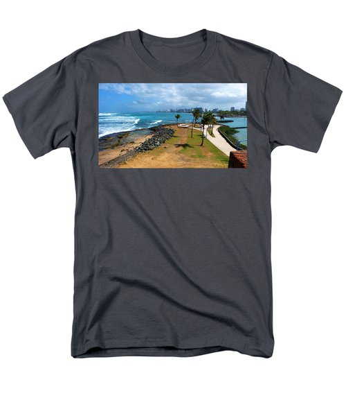 Men's T-Shirt  (Regular Fit) featuring the photograph El Escambron by Ricardo J Ruiz de Porras