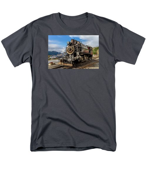 Men's T-Shirt  (Regular Fit) featuring the photograph Elbe Steam Engine 17 - 2 by Rob Green