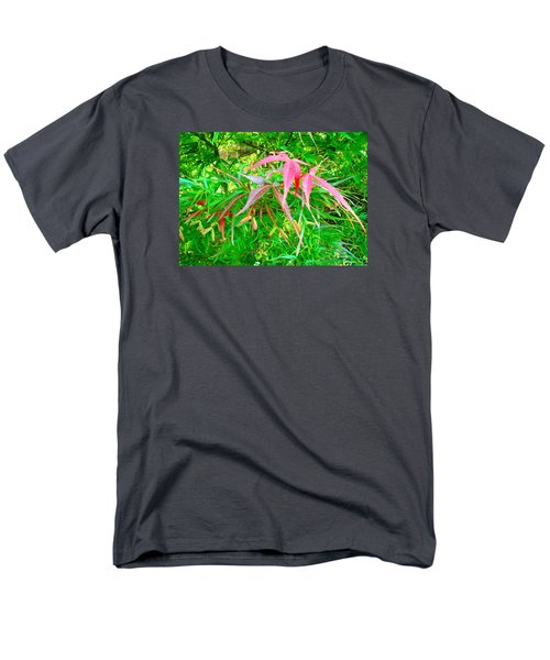 Men's T-Shirt  (Regular Fit) featuring the painting Elegance by Angela Annas