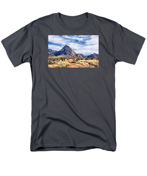Men's T-Shirt  (Regular Fit) featuring the photograph Elephant Head by Barbara Manis