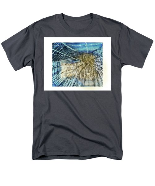 Elitch Pavilion Redo Men's T-Shirt  (Regular Fit) by Deborah Nakano