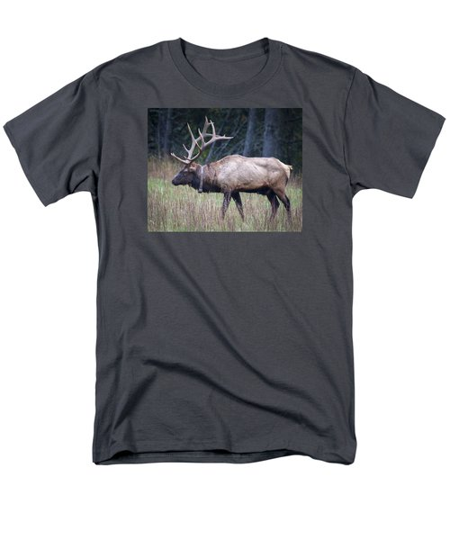 Men's T-Shirt  (Regular Fit) featuring the photograph Elk by Tyson and Kathy Smith