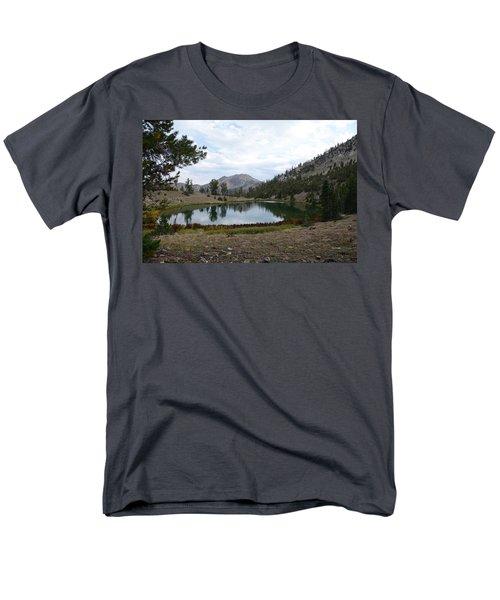 Jarbidge Wilderness Emerald Lake Men's T-Shirt  (Regular Fit) by Jenessa Rahn