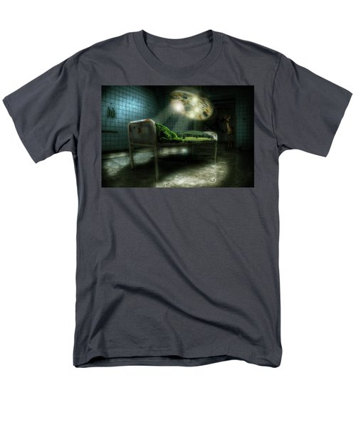 Men's T-Shirt  (Regular Fit) featuring the digital art Emergency Nature  by Nathan Wright