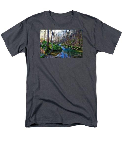 Emory Gap Branch Men's T-Shirt  (Regular Fit) by Paul Mashburn
