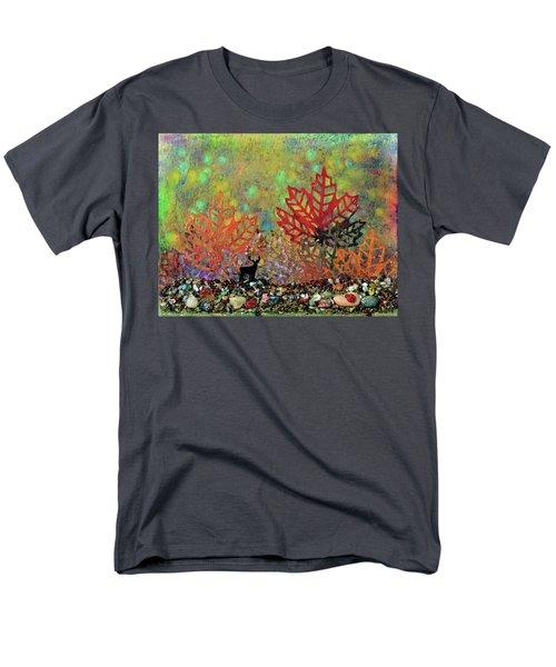 Enchanted Pathways Men's T-Shirt  (Regular Fit) by Donna Blackhall