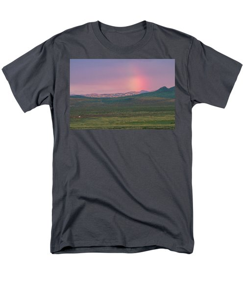 Men's T-Shirt  (Regular Fit) featuring the photograph End Of Rainbow by Hitendra SINKAR