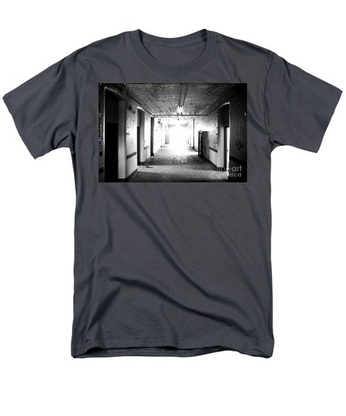 End Of The Hall Men's T-Shirt  (Regular Fit) by Randall Cogle