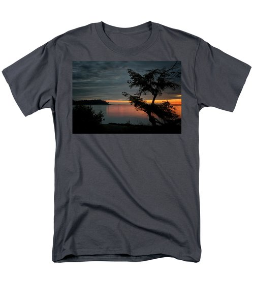 End Of The Trail Men's T-Shirt  (Regular Fit) by Randy Hall