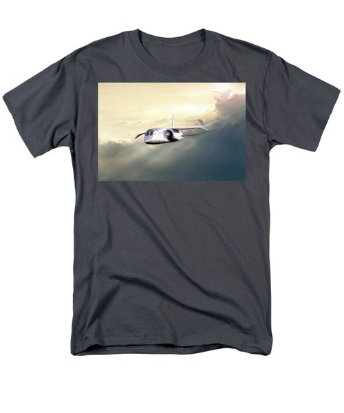 Men's T-Shirt  (Regular Fit) featuring the digital art English Enigma by Peter Chilelli