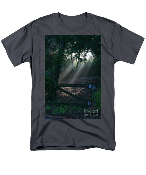 Enlighten Men's T-Shirt  (Regular Fit) by Lori Mellen-Pagliaro