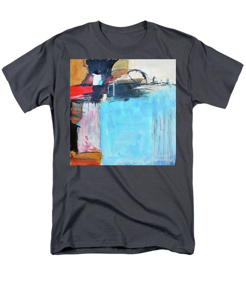 Men's T-Shirt  (Regular Fit) featuring the painting Equalibrium by Ron Stephens