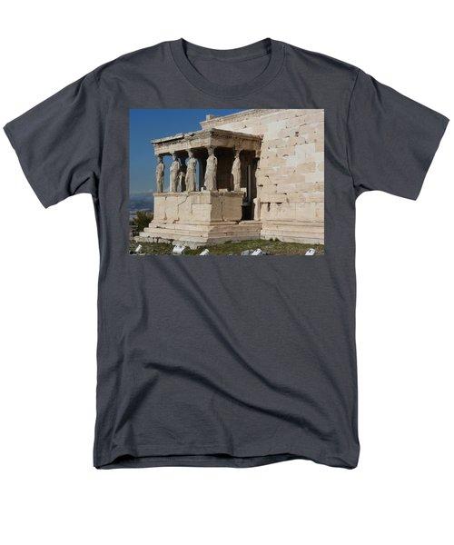 Erechteion With Nike Temple Men's T-Shirt  (Regular Fit)