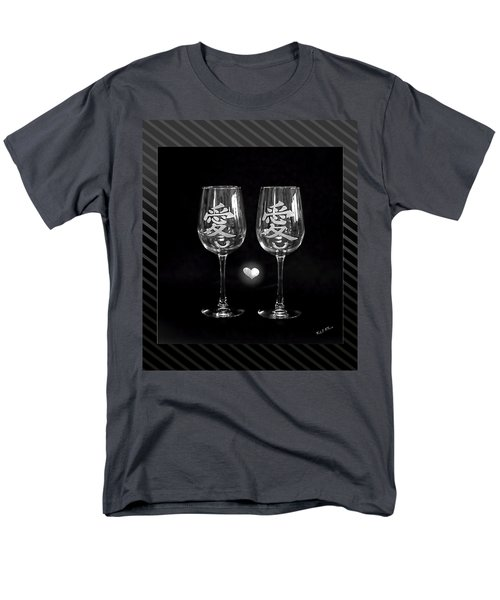 Men's T-Shirt  (Regular Fit) featuring the photograph Etched With Love by Wendy McKennon