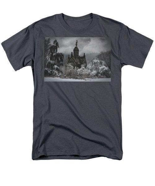 Men's T-Shirt  (Regular Fit) featuring the digital art Eternal Winter by Chris Lord