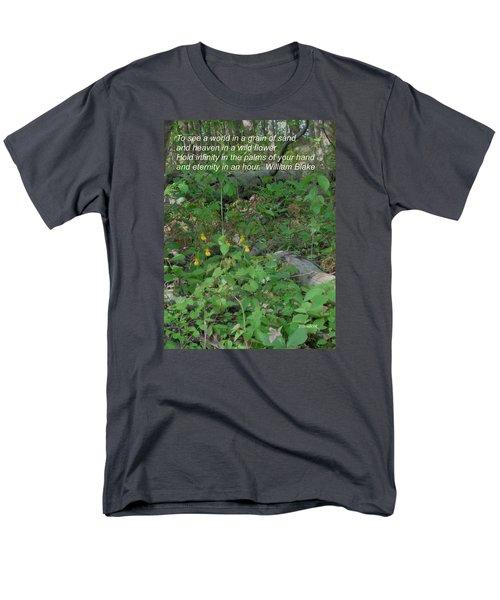 Eternity In An Hour Men's T-Shirt  (Regular Fit) by Deborah Dendler