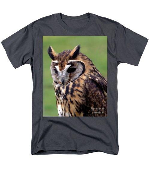 Eurasian Striped  Owl Men's T-Shirt  (Regular Fit) by Stephen Melia
