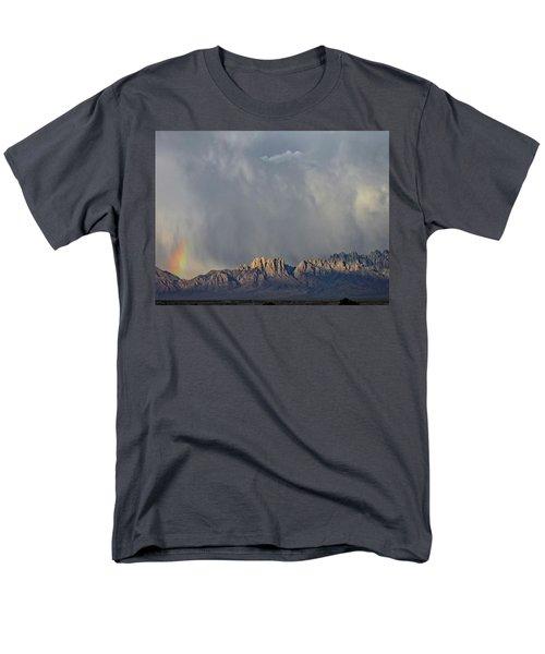 Men's T-Shirt  (Regular Fit) featuring the photograph Evening Drama Over The Organs by Kurt Van Wagner