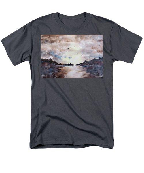 Evening Light Men's T-Shirt  (Regular Fit) by Geni Gorani