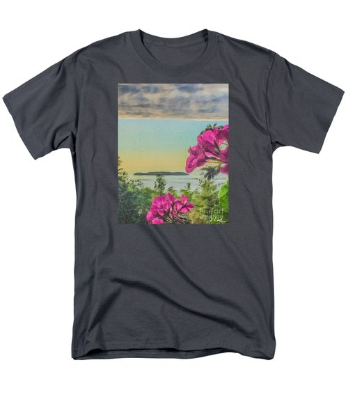Men's T-Shirt  (Regular Fit) featuring the photograph Islands Of The Salish Sea by William Wyckoff