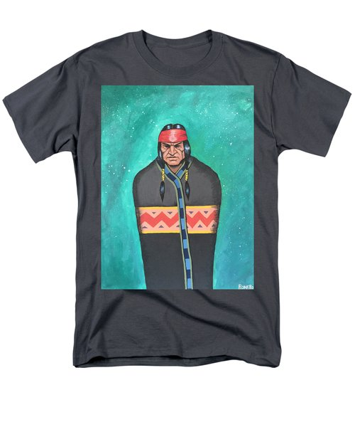 Men's T-Shirt  (Regular Fit) featuring the painting Evening Prayer by Antonio Romero