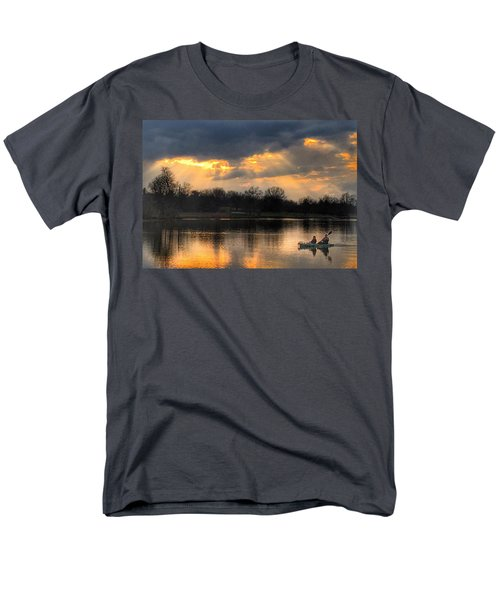 Men's T-Shirt  (Regular Fit) featuring the photograph Evening Relaxation by Sumoflam Photography