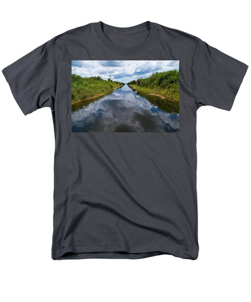 Everglades Canal Men's T-Shirt  (Regular Fit) by Christopher L Thomley