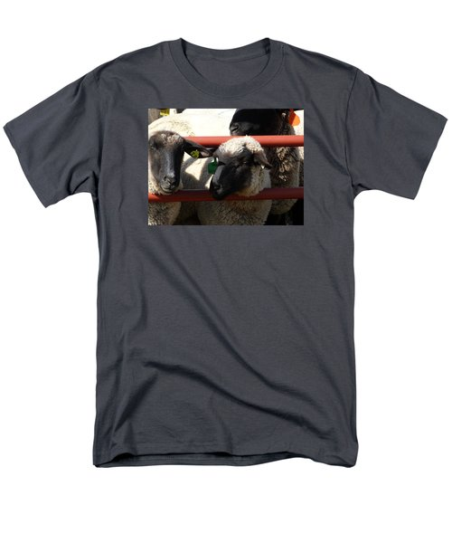 Men's T-Shirt  (Regular Fit) featuring the photograph Ewe Gate by J L Zarek
