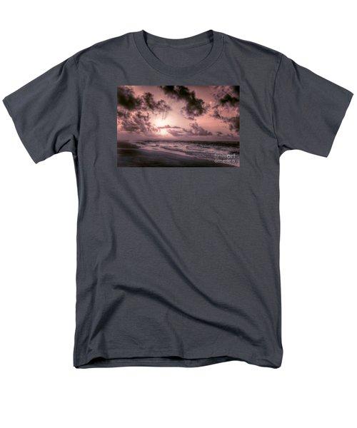 Explosive Sunrise On Ocracoke Outer Banks Men's T-Shirt  (Regular Fit) by Dan Carmichael