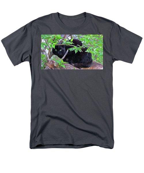Eye Contact No.2 Men's T-Shirt  (Regular Fit) by Sandra Church