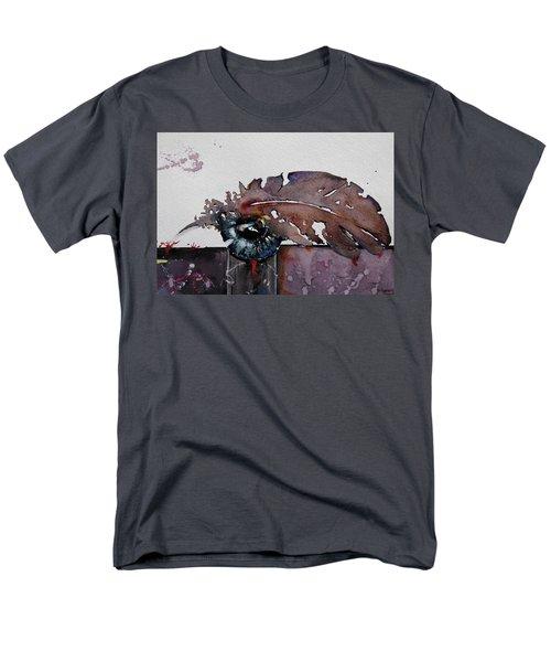 Eye Feather Men's T-Shirt  (Regular Fit) by Geni Gorani