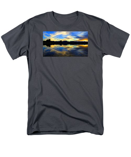 Eye Of The Mountain Men's T-Shirt  (Regular Fit) by Eric Dee