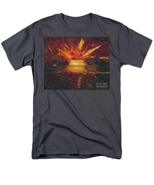 Eye Of The Storm Men's T-Shirt  (Regular Fit) by Ania M Milo