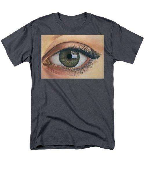 Eye - The Window Of The Soul Men's T-Shirt  (Regular Fit) by Vishvesh Tadsare