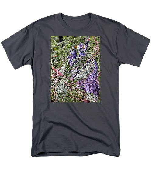 Eyes In The Forest Men's T-Shirt  (Regular Fit) by Ansel Price