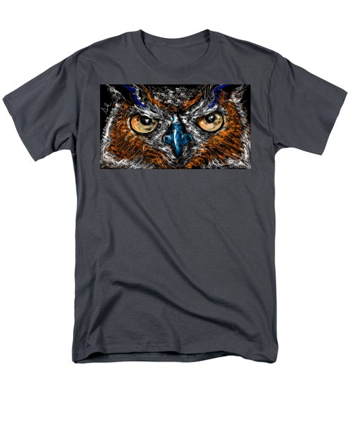 Eyes In The Night... Men's T-Shirt  (Regular Fit)
