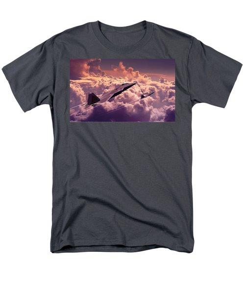 F22 Raptor Aviation Art Men's T-Shirt  (Regular Fit) by John Wills