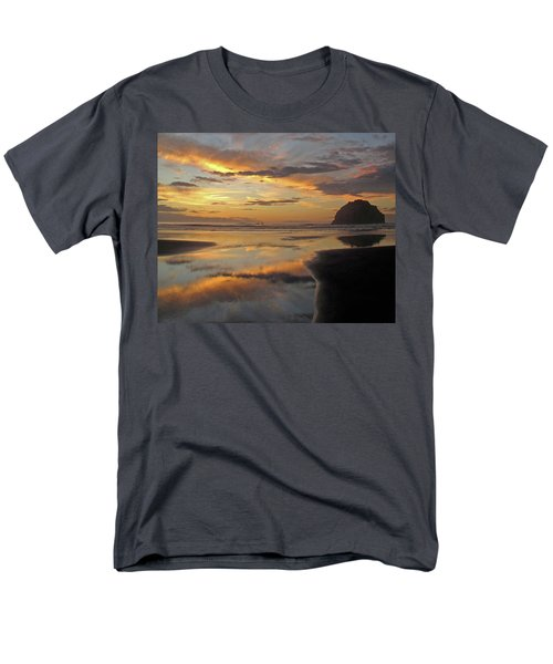 Men's T-Shirt  (Regular Fit) featuring the photograph Face Rock Beauty by Suzy Piatt