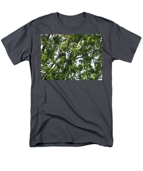 Men's T-Shirt  (Regular Fit) featuring the photograph Face The Eagle by Donald C Morgan