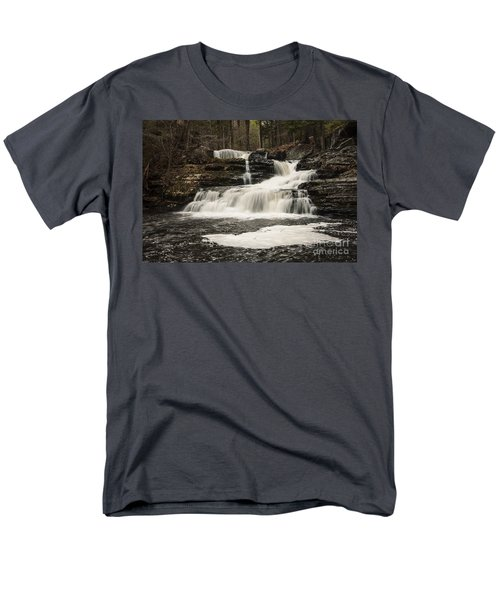 Factory Falls Men's T-Shirt  (Regular Fit) by Debra Fedchin