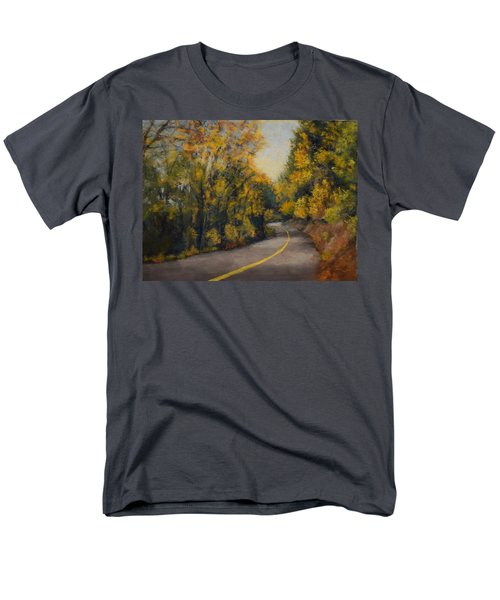 Men's T-Shirt  (Regular Fit) featuring the painting Fall Color by Nancy Jolley