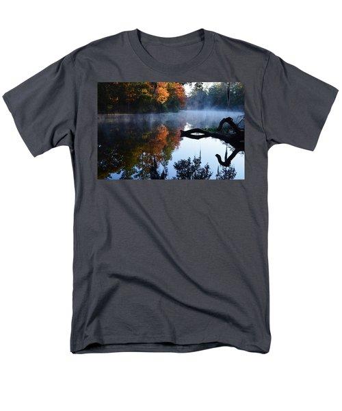 Fall Fog Men's T-Shirt  (Regular Fit) by Warren Thompson