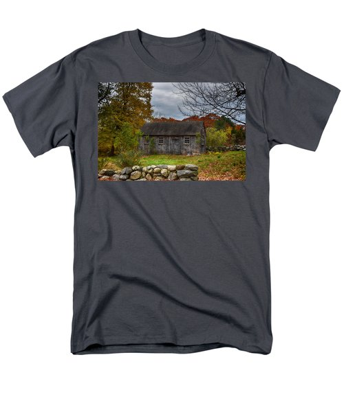 Fall In New England Men's T-Shirt  (Regular Fit) by Tricia Marchlik