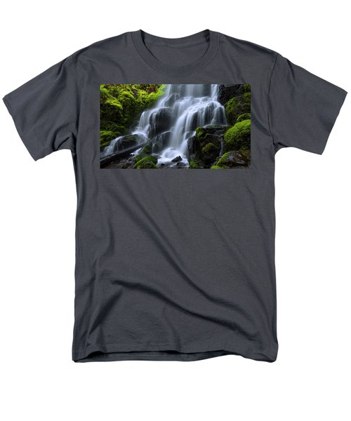 Men's T-Shirt  (Regular Fit) featuring the photograph Falls by Chad Dutson